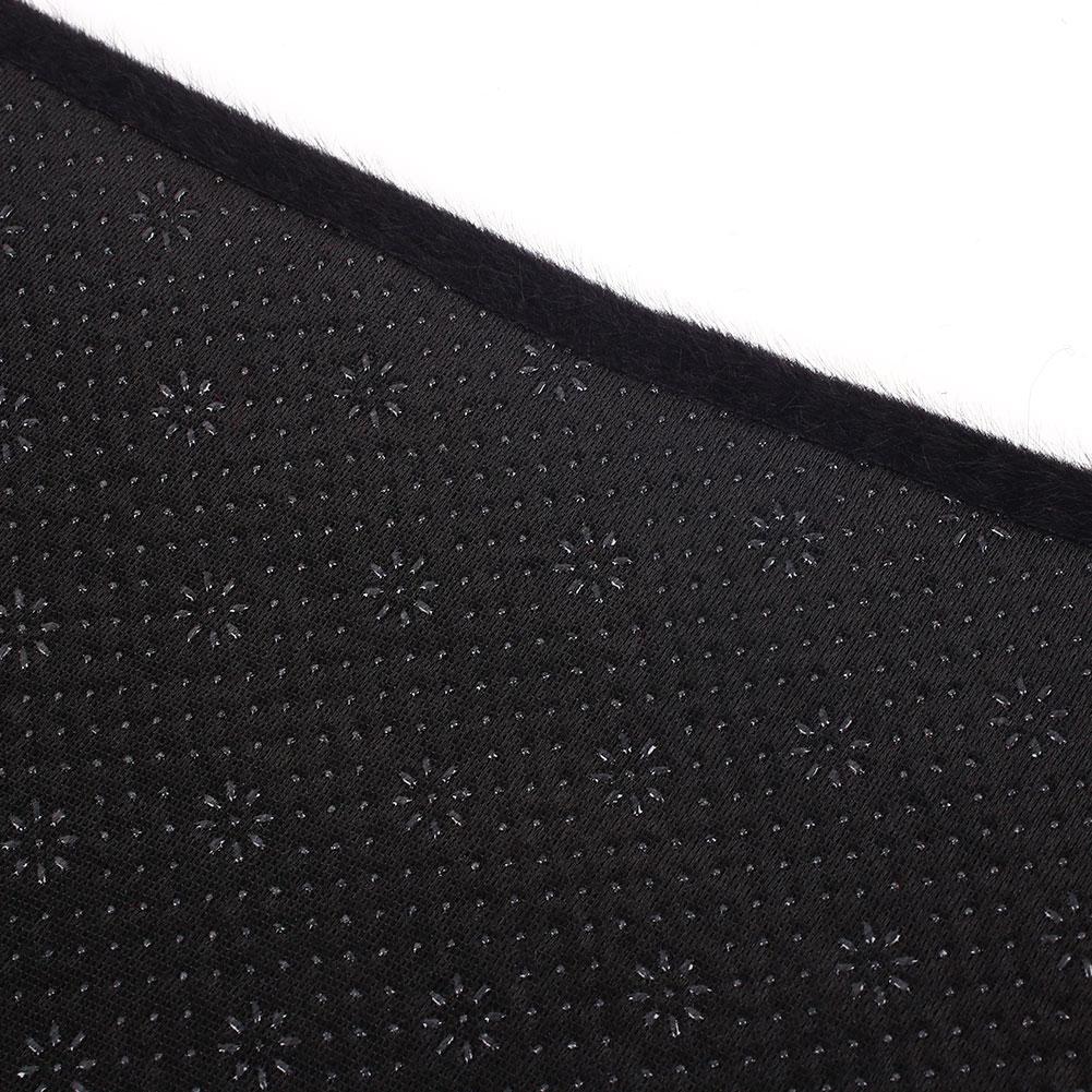Vehemo фетр ткань запчасти для двигателей приборной панели крышки водителя сиденья Солнцезащитная Накладка для машины Pad Черный приборной панели коврики авто для интерьера, с мелкими полосками запчасти