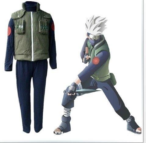 font b Naruto b font Kakashi font b cosplay b font costumes clothes top vest