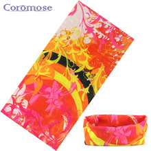 Coromose 2017 Sport Bicycle Multi Functional Bandana Headband Camouflage Leaves Seamless Tubular Magic Bandanas Tube Ring Scarf
