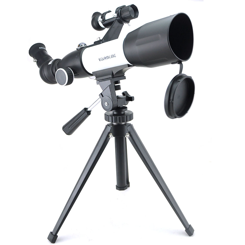 US $59 21 25% OFF|Visionking High Quality CF50350 120X Monocular Space  Astronomical Telescope Black and White Astronomical Telescope With  Tripod-in
