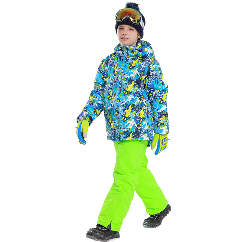 Detector New Kids Jongens Winterkleding Set Skijassen Pant Snow Suit - Sportkleding en accessoires - Foto 5
