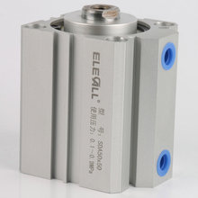 SDA50*25 / 50mm Bore 25mm Stroke Compact Air Cylinders Double Acting Pneumatic Air Cylinder цена