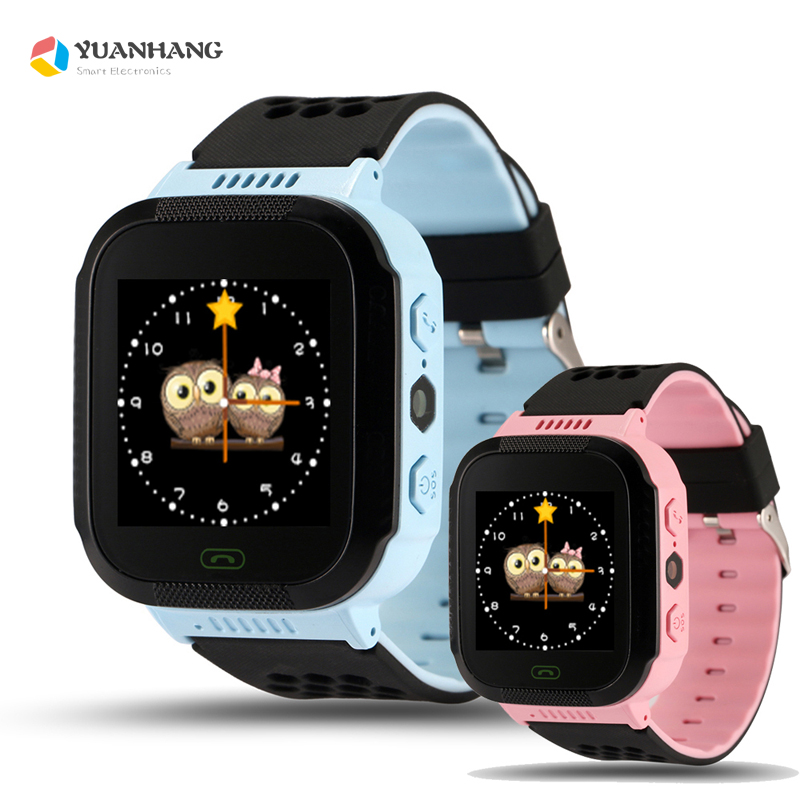 1.44Touch Screen Smart Real-time GPRS Tracker Location Finder SOS Call Monitor LED Flashlight Watch Wristwatch for Kids Baby