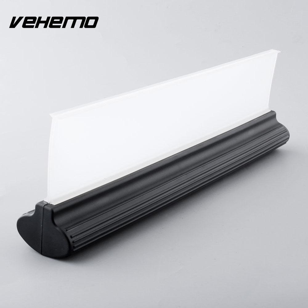 Vehemo Silicone Flexy Water Wiper Blade Windscreen Valeting Wash & Window Cleaning 30cm Squeegee Wiper Plade