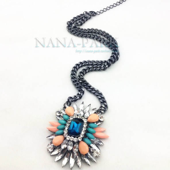 new 2013 hot sale vintage hip hop jewelry statement exaggerated necklace fashion design short necklace popular accessories