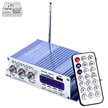 Hi-Fi HY502 USB MP3 DVD CD FM SD Digital Player for Motorcycle Auto Stereo Power Amplifier Sound Model Audio Music Player