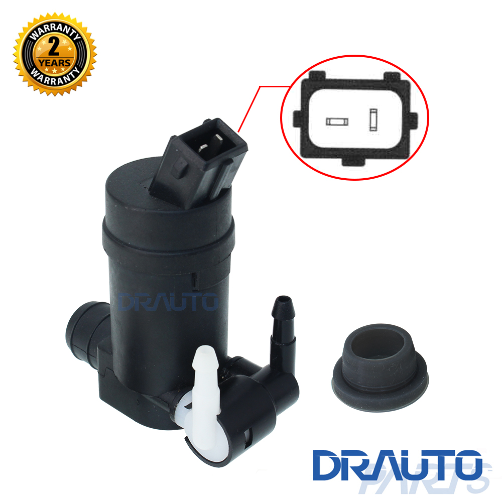 For Ford Mondeo III MK3 2000-2003 Hatchback 2000 - 2003 Windscreen Washer Pump Twin Outlet OE#1S71-17K624-FC