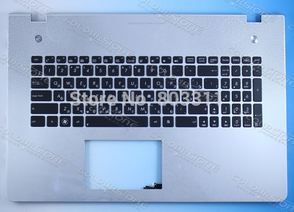 RUSSIA Black with cover C Laptop keyboard notebook RU keyboard for ASUS N76 Backlit Keyboard free shipping new russia white laptop keyboard for msi wind u130 u135 u135dx u160 u160dx ru white frame laptop keyboard