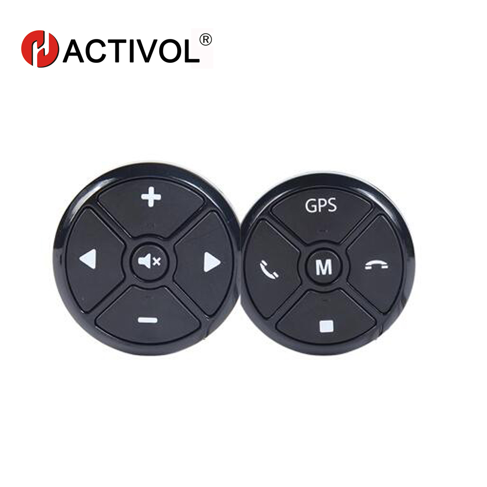 Автомобильный беспроводной универсальный пульт дистанционного управления с кнопками на рулевое колесо|controller kit|controller controlcontrol remote | АлиЭкспресс
