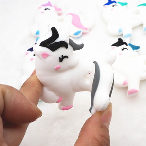Image 4 - Chenkai 10PCS BPA Free DIY Baby Shower Pacifier Dummy Teether Sensory Toy Accessories Silicone Unicorn Teether
