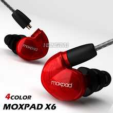 New! Moxpad X6 In-ear sport Earphones with Mic for iPhone Samsung,Mobile Cell Phones,Replacement Cable+Noise Isolating Headphone