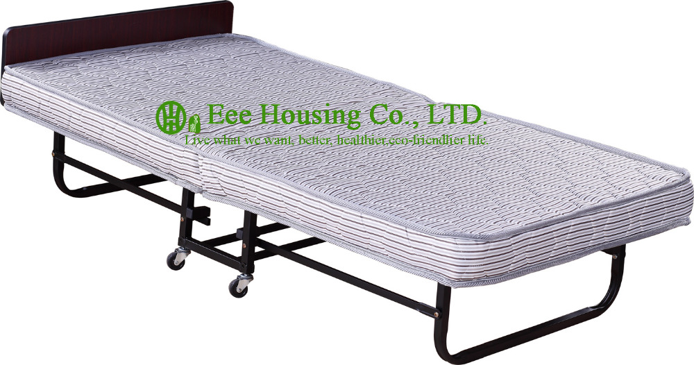 2016 Hot Sale Factory Price Hotel Extra Folding Bed,12cm Sponge Rollaway Beds For Guest Room Roll Away Folding Extra Bed