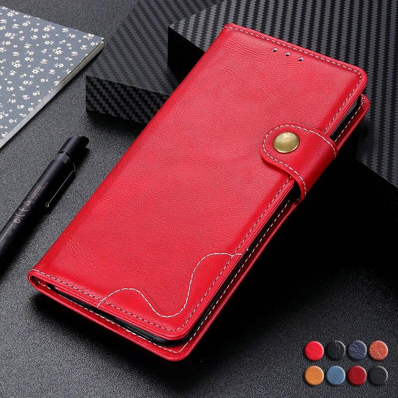 6.4'' Flip Case for Asus Zenfone 6 ZS630KLCase Zenfone 6 2019 Cover Luxury Wallet Magnetic Capa for Asus Zenfone 6Z ZS630KL Case