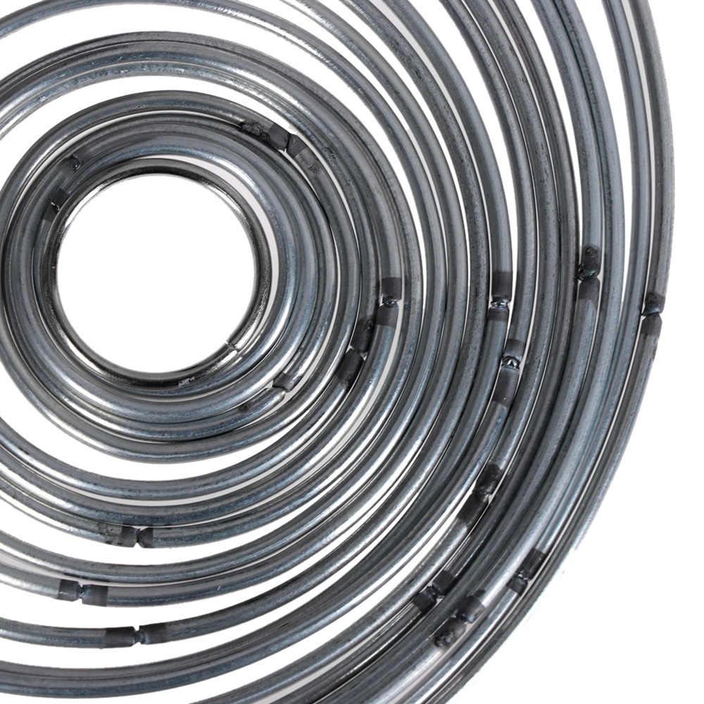 โลหะหลายรอบดีเชื่อมโลหะ Dream Catcher Dreamcatcher แหวนหัตถกรรม Hoop อุปกรณ์ DIY หัตถกรรมโลหะ Hoop