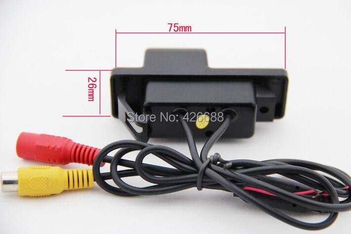 """HD видео Автомобильный парковочный монитор, камера заднего вида CCD для NISSAN QASHQAI X-TRAILWith 4,"""" автомобильное зеркало заднего вида"""