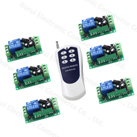 DC12V wireless remote control switch RF remote switch 1CH RF ON/OFF system receiver + transmitter