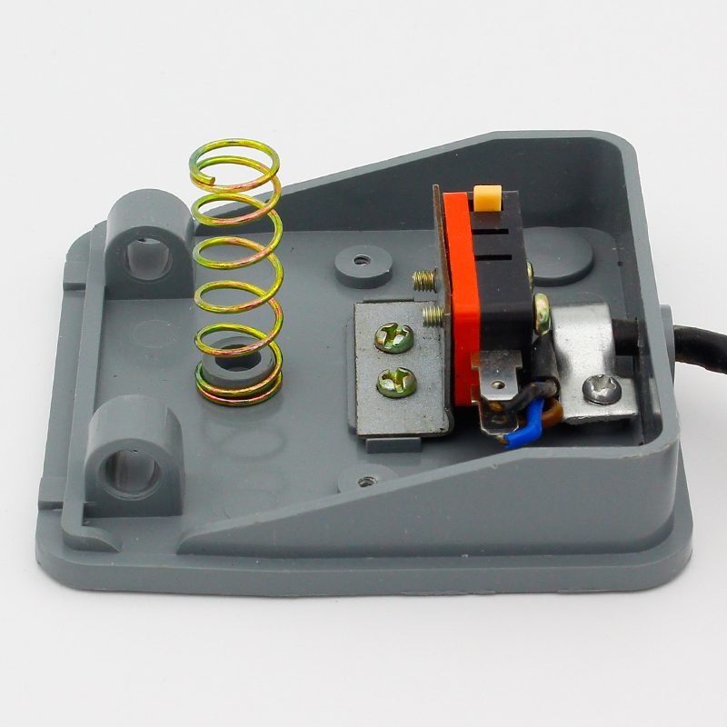 Promotion! 0-400V Footswitch Foot Momentary Control Switch Electric Power Pedal SPDT Grey