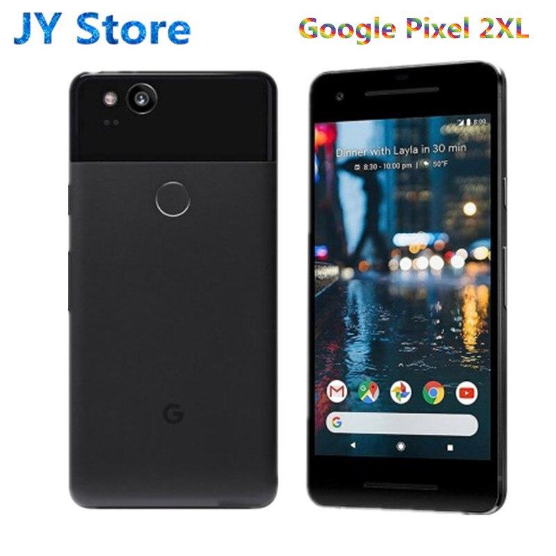 Brand NEW 6 Inch Google Pixel 2XL Mobile Phone EU Version Snapdragon 835 Octa Core 4GB 64GB 128GB Fingerprint 4G Android 2XL(China)
