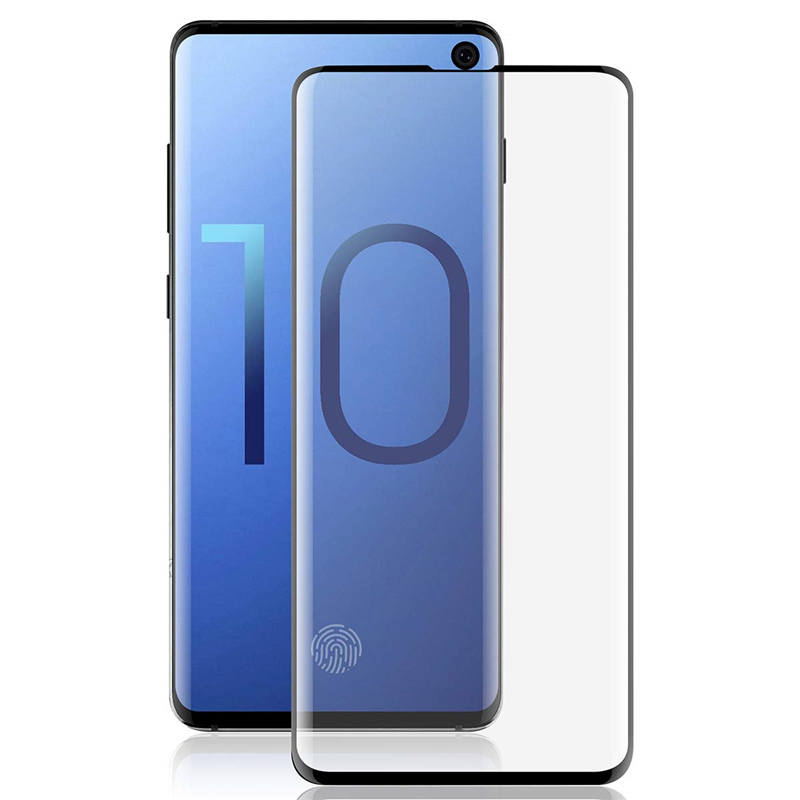 KEYSION 3D Glass For Samsung Galaxy S10 Plus Screen Protector Tempered Glass For Galaxy S10 S10 S10E Curved Cover Film S10 Plus in Phone Screen Protectors from Cellphones Telecommunications