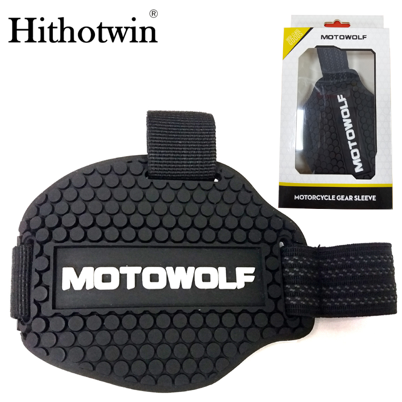 4PCS/lot Motorcycle Shoes Protective Motorcycle Gear Shifter Shoe Boots Protector Motorbike Boot Cover Protective Gear Shift Pad