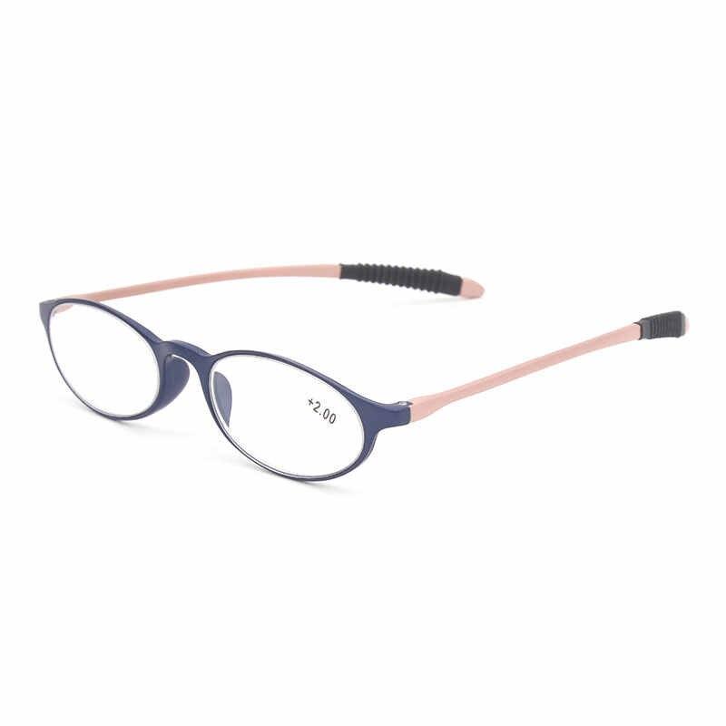 Гибкие ножки Пластиковая Рамка очки для чтения LH 237 для мужчин и женщин очки для чтения унисекс очки для чтения