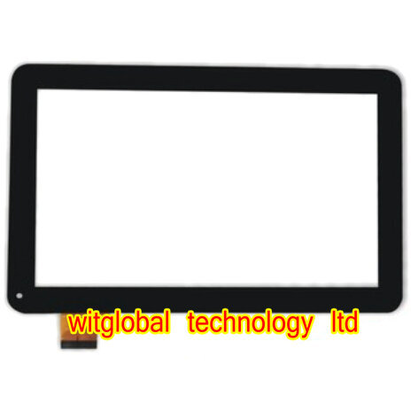 Original 10.1 inch oysters T12v 3g Tablet touch screen panel LCD Digitizer Glass Sensor Replacement with Frame Free Shipping