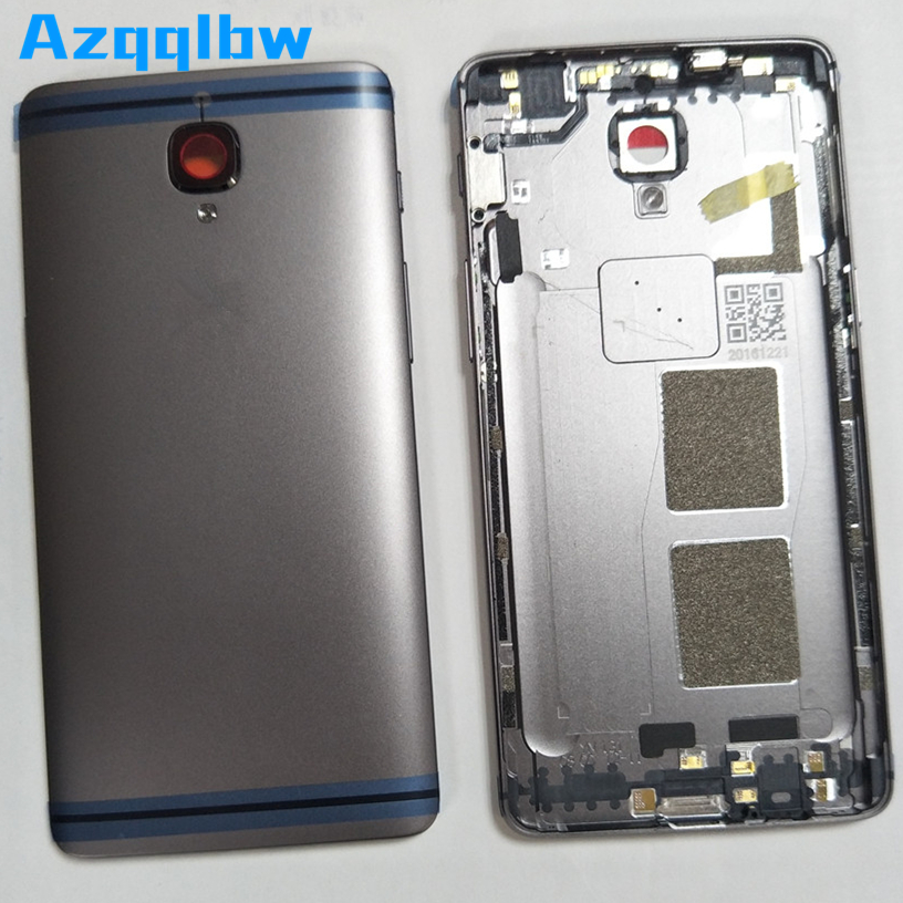 Azqqlbw For Oneplus 3 <font><b>3T</b></font> <font><b>Battery</b></font> Cover Case Back Door Back Housing For <font><b>One</b></font> <font><b>Plus</b></font> <font><b>3T</b></font> 3 <font><b>Battery</b></font> Case Replacement Repair Parts image