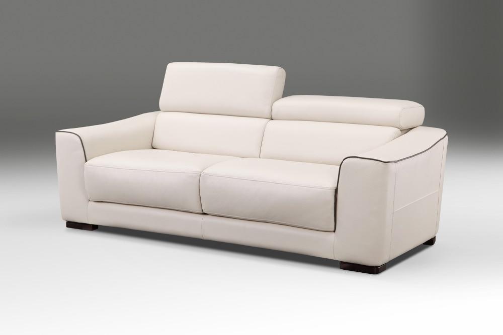 Echtes Leder Sofa Bett Wohnzimmer Mbel Couch Schlafsofa Und Matratze Moderne Stil Funktionskopfsttze In