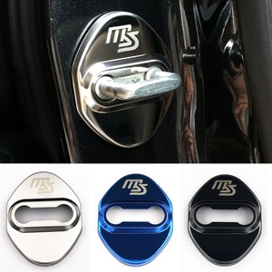 Image 2 - Car Styling Auto Serratura di Portello Della Copertura Autoadesivo Dellautomobile Per Mazda 2 Mazda 3 MS Per Mazda 6 CX 5 CX5 accessori Auto Styling