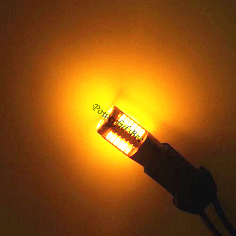 2 x CANBUS T10//w5w//194 57SMD fehler kostenloser weiß bernstein gelbe LED marker spiel parkplatz stopp schwanz lichter lampe für Audi A1 A3 A4