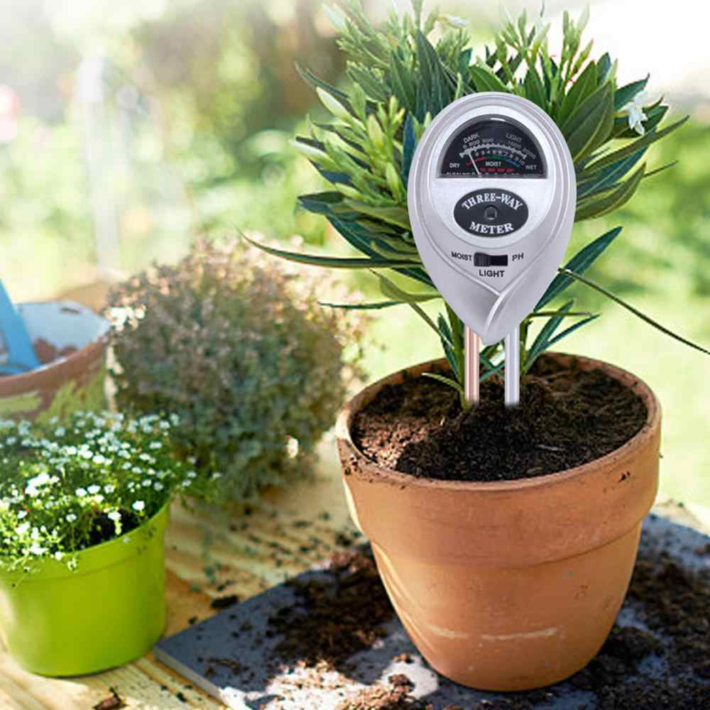 Yieryi 2019 New Soil Meter Fertility Tester Measures Soil PH Moisture  Sunlight Temperature and Humidity 5 in 1/4 in 1/3 in1/2in1|PH Meters| -  AliExpress