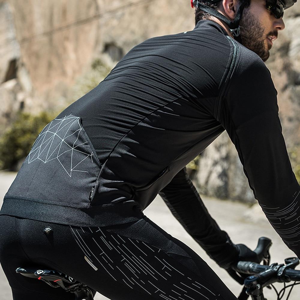 Santic automne hiver manches amovibles vestes de cyclisme Therma polaire manteau coupe-vent réfléchissant vélo vêtements vélo coupe-vent
