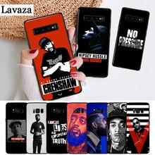 Lavaza Rapper Nipsey Hussle Silicone Case for Samsung S6 Edge S7 S8 Plus S9 S10 S10e Note 8 9 10 M10 M20 M30 M40