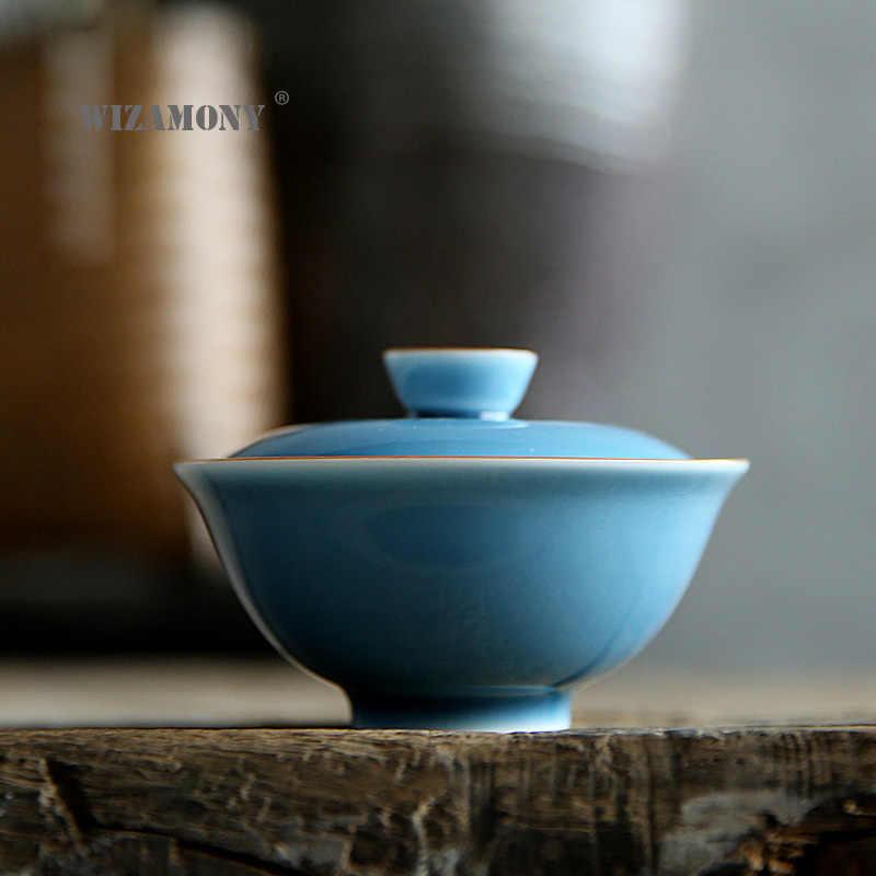 1 pçs wizamony kung fu chinês conjunto de chá gaiwan bule de chá caneca justa conjuntos de chá p cerâmica fot presente puer drinkware