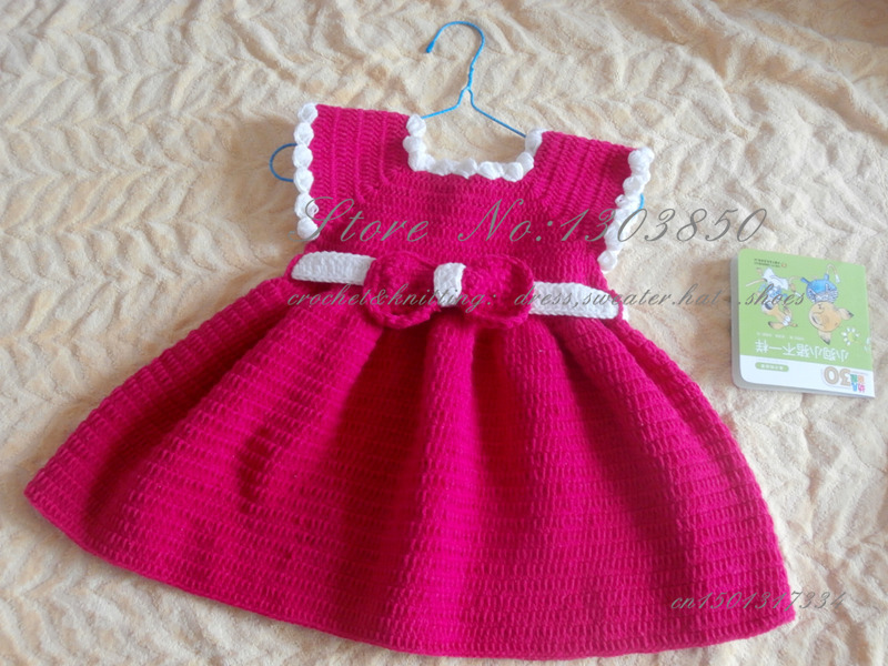 Aliexpress.com : Buy Handmade Knitted Toddles Dress SPECIAL ...