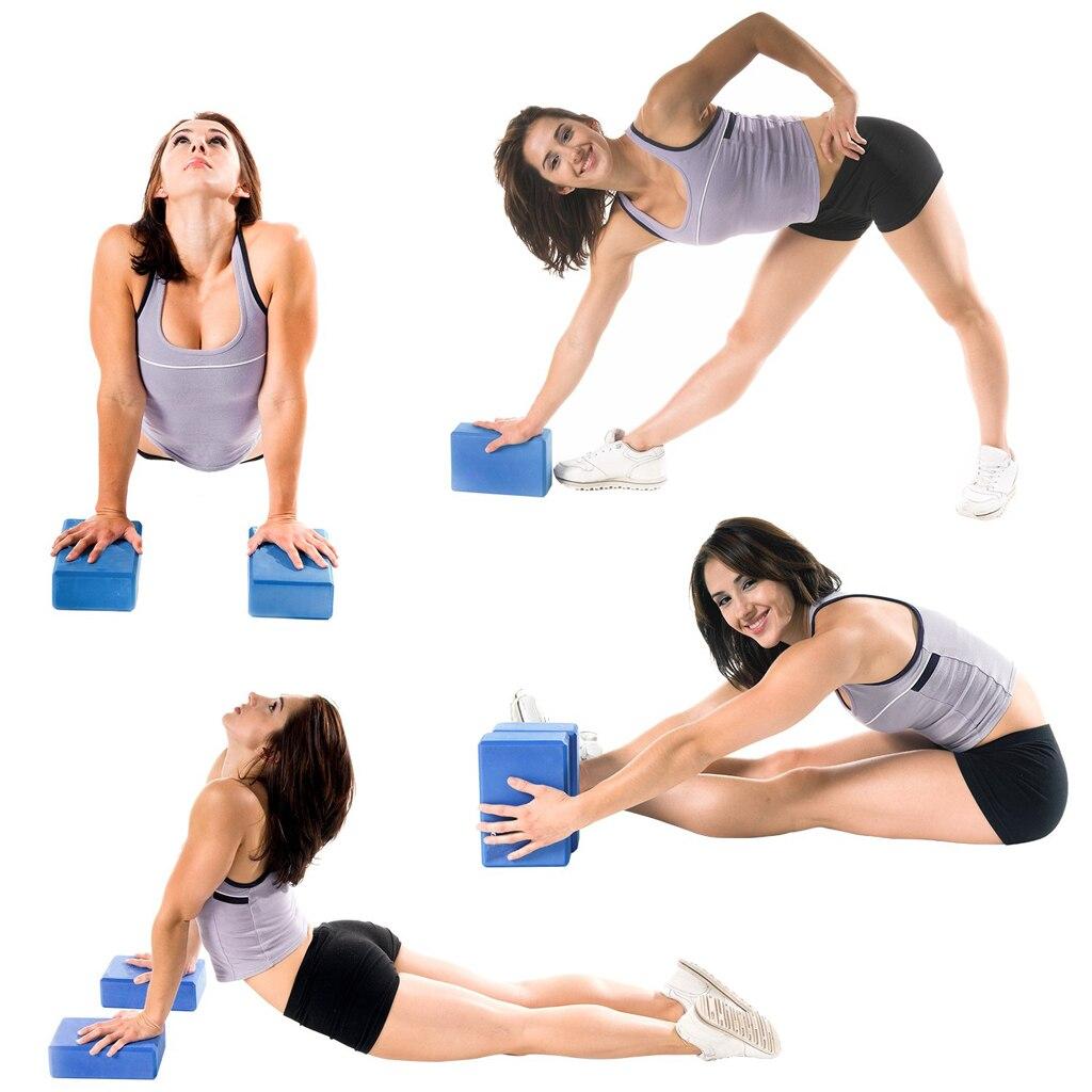 Gym Fitness EVA Yoga Block Colorful Foam Block Brick for Crossfit Exercise Workout Training Bodybuilding Equipment 3
