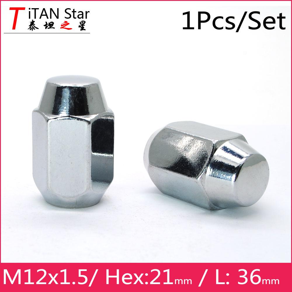 Mk4 13-16 Black Locking Wheel Nuts 12x1.5 Bolts for Honda Jazz