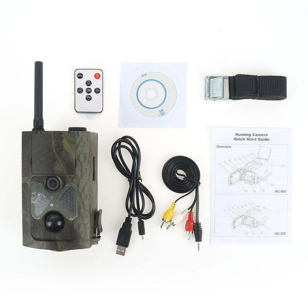 2018 nouvelle piste de caméra de chasse 12mp 1080 p pièges Photo HC500M GPRS GSM Animal piège sauvage caméra Animal MMS GPRS GSM pièges Photo XNC