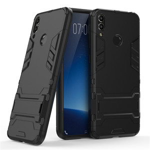 Rugged Case for Huawei Honor 6C pro 8C Case for Honor 6C Pro Rubber Bumper Shockproof Hard Cover on for Huawei Honor 8C 6 C pro(China)
