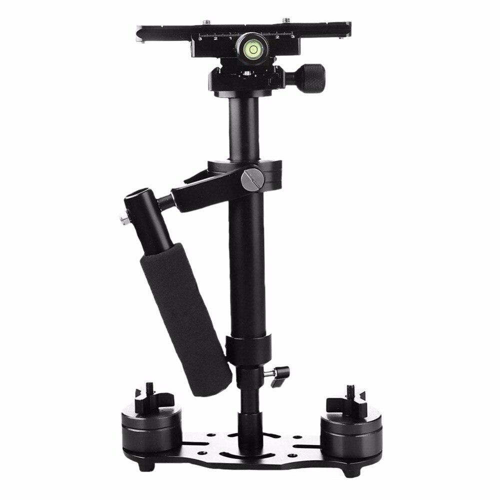 S40 40 cm stabilisateur de poche professionnel Steadicam pour stabilisateur de caméra vidéo numérique pour Canon Nikon Sony DSLR Mini stabilycam