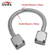 5YOA Deur Loop Elektrische Kabel Lijn voor Controle Lock Deurslot rvs Blootgesteld Montage bescherming mouw Toegangscontrole