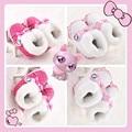 2015 новых девушек розовый супер сладкий носки-20pairs милые киски с бантом зимняя обувь для детей новорожденный ребенок Prewalker сапоги впервые уокер обувь