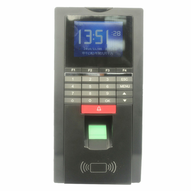 Fingerprint Entrance Guard TCP/IP Realand Access Control and Time Attnedcne Terminal MF131 Support French Arabic Language gprs real time fingerprint access guard tour system
