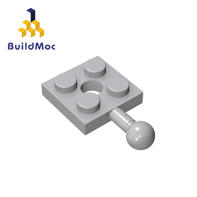BuildMOC Compatible With Assembles Particles 2x2 For Building Blocks Parts DIY LOGO Educational Creative Gift Toys