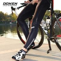 DONEN Cycling long Pants Winter Coolmax 3D Gel Pad Bike Tights Ciclismo Pantalones Keep Warm Thermal MTB Bicycle Trousers