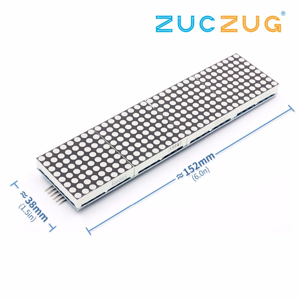 LED HT1632C Module 8X32 Red Dot-matrix ScreenLED HT1632C Module 8X32 Red Dot-matrix Screen