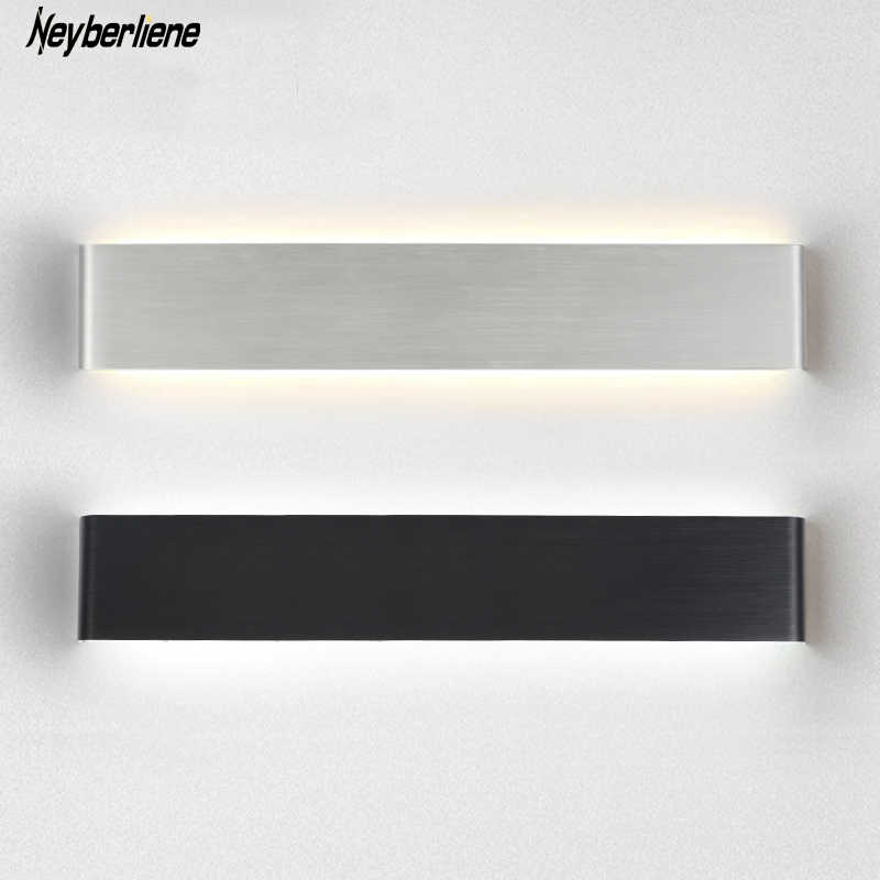 Led Wall Lamp Aluminum Wall Light Sconce For Bedroom Dinning Living Room Abajur Luminaire Mirror Light Luminaire Wandlamp Stair