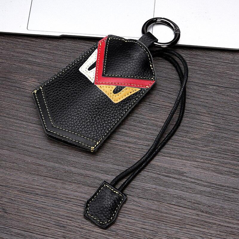 CICICUFF Cowhide Genuine Leather Key Wallet Keychain Covers Key Case Bag Men Car Key Holder Housekeeper Keys Organizer Purse New