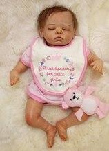 High quality baby doll reborn toys 20″ silicone reborn dolls sleeping newborn babies real dolls bebe alive reborn bonecas