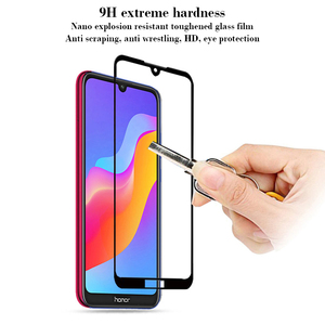 Image 2 - 3D Full Cover Glass On Honor Play 8a Screen Protector For Huawei Honor 8a 8 Honor8a Honor8 a a8 play Tempered Glass Safety Film